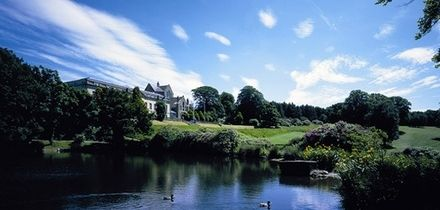 18 Holes of Golf with Bacon Roll and Hot Drink for Two or Four at Shrigley Hall Hotel (Up to 52% Off)