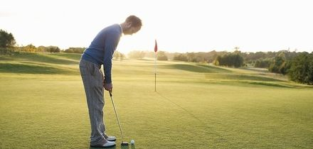 18 Holes of Golf for Three or Four with Optional Group Lesson with Albies Golf, 13 Locations (Up to 79% Off)