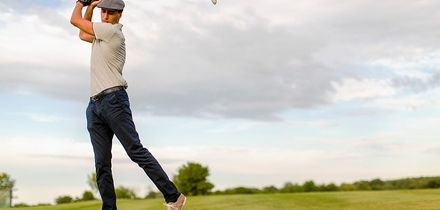 18 Holes of Golf for Two or Four at Rhondda Golf Club (50% Off)