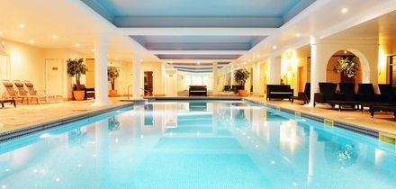 Spa Day with Treatment and Afternoon Tea for One or Two at 4* Stoke by Nayland Hotel Golf & Spa (Up to 48% Off)