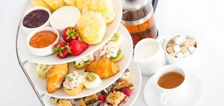 Afternoon Tea for Two or Four at Priors Hall Golf Club