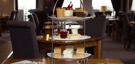 Afternoon Tea for Two with Optional Glass of Wine for Two or Four at Oak Royal Hotel Golf & Country Club (50% Off)